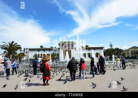 Mohammed V Square in central Casablanca, Morocco. - Stock Image