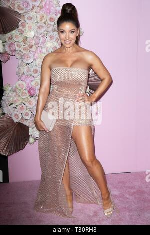 Los Angeles, USA. 30th Jan, 2019. Melissa Molinaro attends the launch of Patrick Ta's Beauty Collection at Goya Studios on April 04, 2019 in Los Angeles, California. Credit: The Photo Access/Alamy Live News - Stock Image