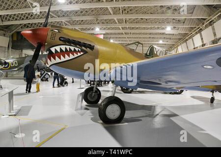 RAF Museum, London, UK - Stock Image