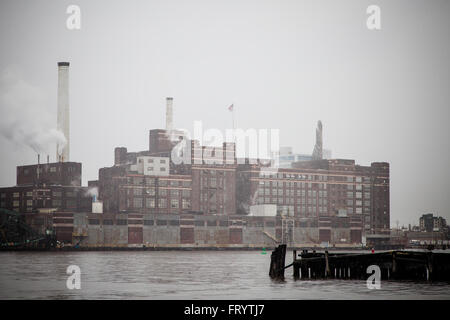 Tide Point in Baltimore USA - Stock Image