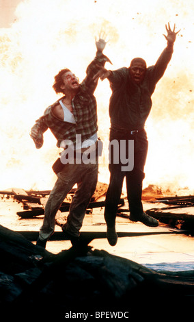 JEFF BRIDGES & FOREST WHITAKER BLOWN AWAY (1994) - Stock Image