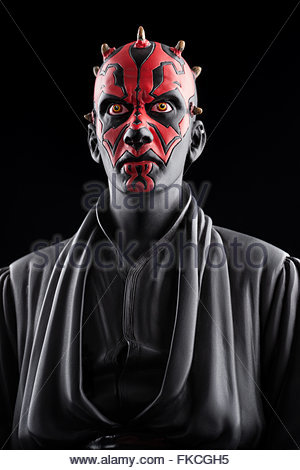 Star Wars : Darth Maul (limited edition statue by Attakus/Bombyx) - Stock Image