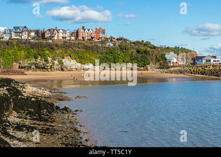 Barry Island Beaches on the south Wales coast - Stock Image