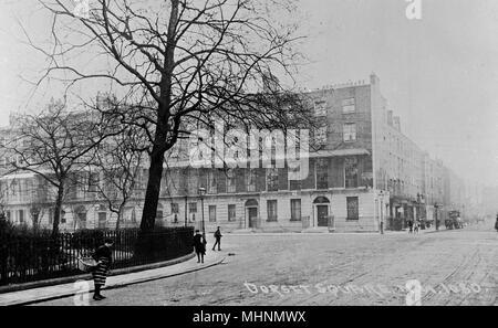 Dorset Square, NW London.     Date: circa 1910 - Stock Image