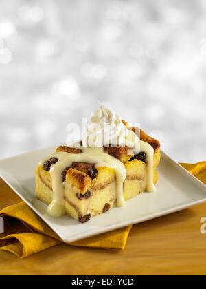 Bread Pudding - Stock Image