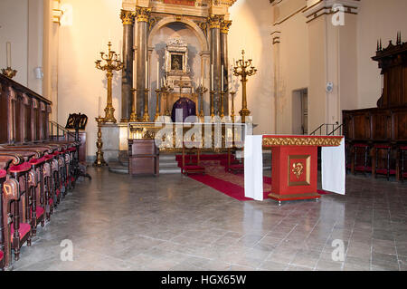 The Primada Cathedral of Bogota, Colombia - Stock Image