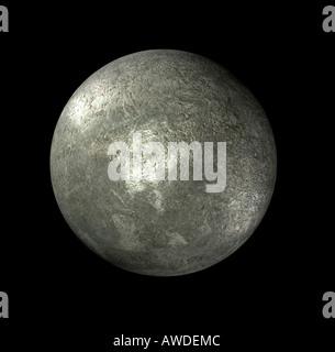 dwarf planet Eris - Stock Image