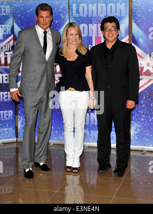 Amanda Holden at the launch of the new series of Britain's Got Talent at the mayfair hotel london 13 april 2011 - Stock Image