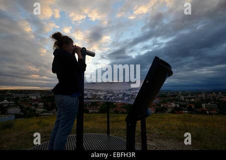 Cityscape view - Stock Image