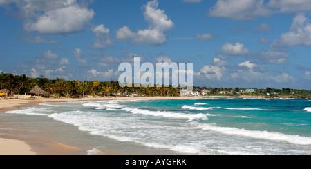 Jamaica Long bay at east coast - Stock Image