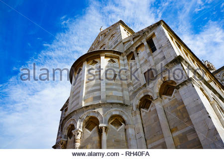Pisa, Italy - August 21, 2014: Low view of the - Stock Image