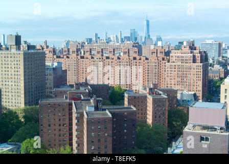 Aerial view of Chelsea district, New York, NY, United states of america, USA - Stock Image