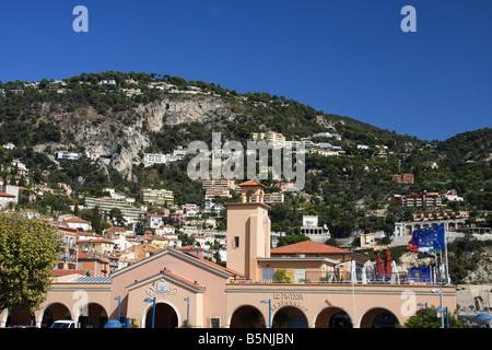 South France Cote d Azur Villefranche sur mer - Stock Image