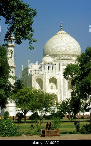 Taj Mahal Palace, Agra, Rajasthan, India - Stock Image