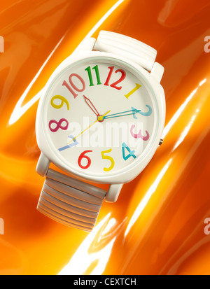 studio shot of watches - Stock Image