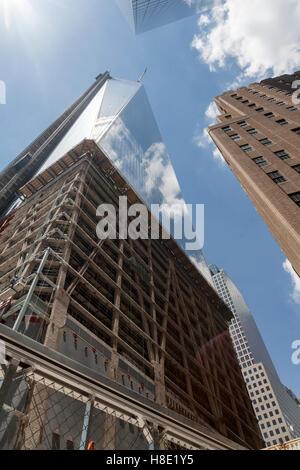 Freedom Tower New York City - Stock Image
