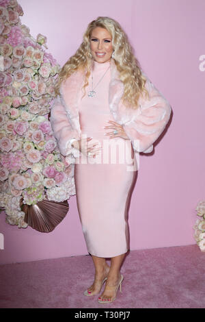 Los Angeles, USA. 30th Jan, 2019. Gretchen Rossi attends the launch of Patrick Ta's Beauty Collection at Goya Studios on April 04, 2019 in Los Angeles, California. Credit: The Photo Access/Alamy Live News - Stock Image
