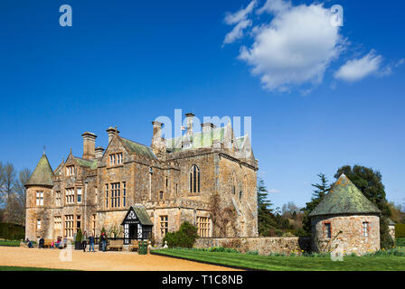 Palace House at Beaulieu. - Stock Image