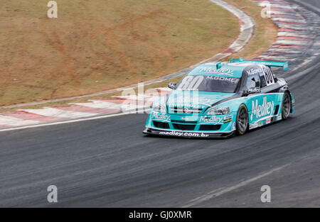 Racing Stock Car Interlagos Brazil - Stock Image