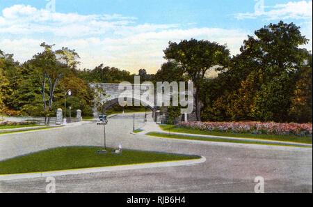 Cleveland, Ohio, USA - Scene in Gordon Park - Stock Image