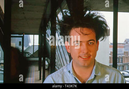 THE CURE  English rock group with Robert Smith about 2000. - Stock Image