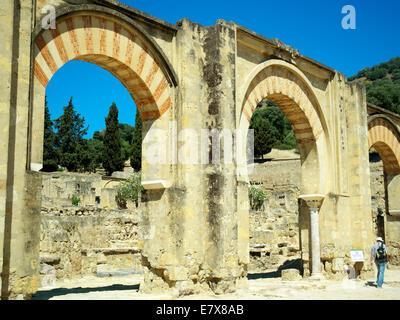 The Grand Portico at Azahara - Stock Image