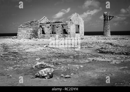 The old Customs House, Bonaire, Netherlands Antilles - Stock Image