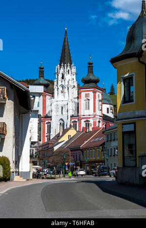 Pilgrimage Site Basilica Of Mariazell In Austria - Stock Image