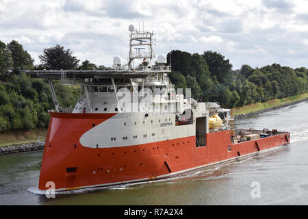 Offshore Support Vessel Despina - Stock Image