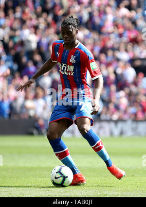 Crystal Palace's Aaron Wan-Bissaka during the Premier League match at Selhurst Park, London. - Stock Image