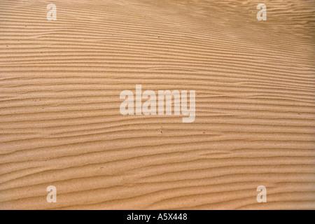 Aerial View of Desert Near Nasca Peru - Stock Image