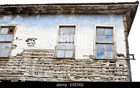 An old derelict ottoman style house - Stock Image