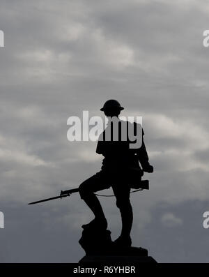 Royal Fusiliers Monument - Stock Image