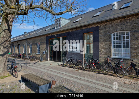 The National Film School of Denmark, Den Danske Filmskole, Christianshavn, Copenhagen, Denmark - Stock Image