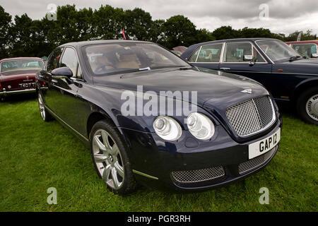 UK, England, Cheshire, Stockport, Woodsmoor Car Show, 2005 Bentley Flying Spur car - Stock Image