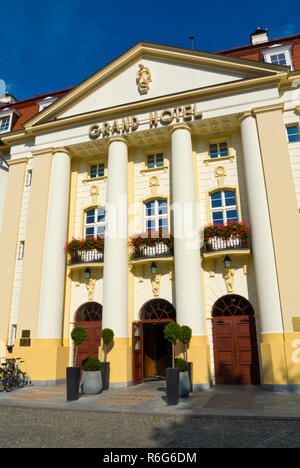 Grand Hotel, Sopot, Poland - Stock Image