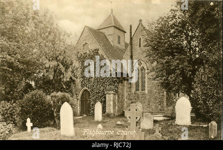 Church of St Peter and St Mary, Fishbourne, near Chichester, West Sussex. - Stock Image