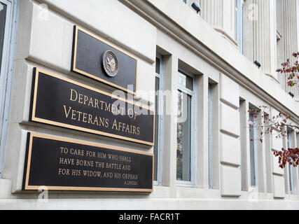Department of Veterans Affairs building, Washington DC - Stock Image