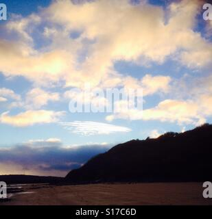 Red wharf bay. - Stock Image