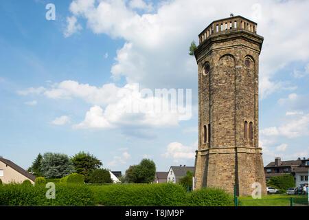 Deutschland, Nordrhein-Westfalen, Wetter (Ruhr), Volmarstein, Wasserturm Loh - Stock Image