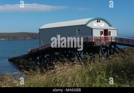Longhope Lifeboat museum, Hoy - Stock Image