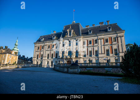 Pszczyna Castle - classical-style palace in the city of Pszczyna. One of the most beautiful castle residences in Poland. - Stock Image