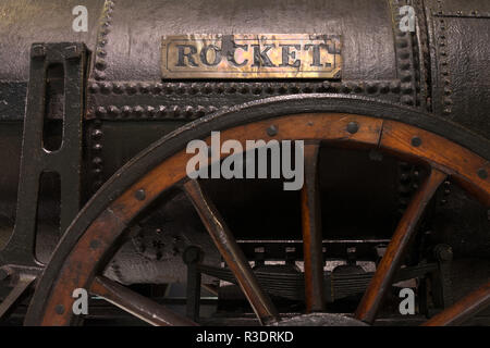 Stephenson's Rocket - Stock Image