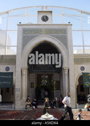 Jami as-Saidat Ruqaiya, destination for shiism pilgrim from iran - Stock Image