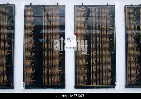 Australian War Memorial, Kundasang, Sabah, Malaysian Borneo. Note: Offered for reportage collection ahead of the ANZAC Day holiday in Aust. and NZ, 25 Apr 2018 - Stock Image