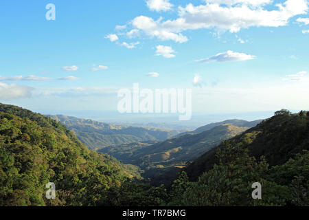 Panorama View of Monteverde, Costa Rica - Stock Image
