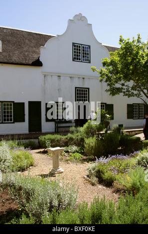 Blettermanhuis, Stellenbosch Village Museum, Stellenbosch, Western Cape Province, South Africa. - Stock Image