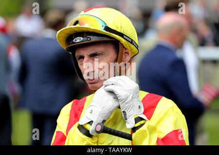 Gerald Mosse, jockey - Stock Image