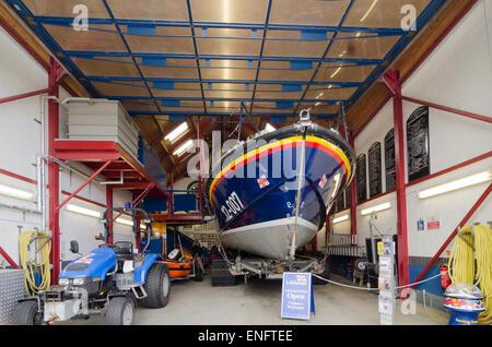 Lifeboat Station Ilfracombe - Stock Image