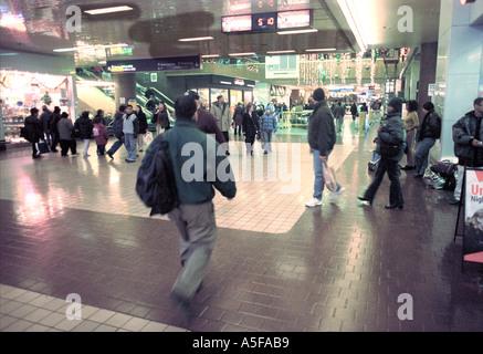 Port Authority in New York City - Stock Image